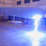 Lightning Performance of Wind Turbine Blade Specimen