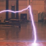 Laboratory Study of Franklin Rod Lightning Protected Zone